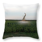 Field Monster Throw Pillow