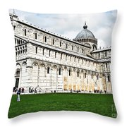 Field Of Dreams Cathedral Throw Pillow