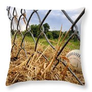 Field Of Dreams Throw Pillow by Jason Politte