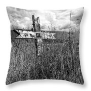 Field Of Faith Throw Pillow