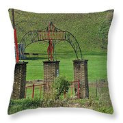 Field Of Honor Throw Pillow