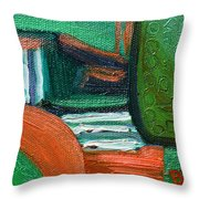 Fields Afar Throw Pillow