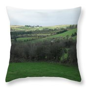 Fields Of Ireland Throw Pillow