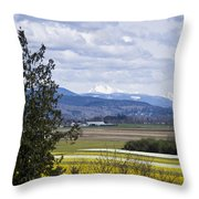 Fields Of Spring Throw Pillow