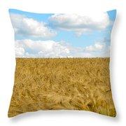 Fields Of Wheat Throw Pillow