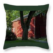 Fiery Shadows Throw Pillow