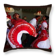 Fiesta De Los Mariachis Throw Pillow