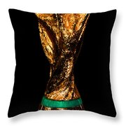 Fifa World Cup Trophy Throw Pillow