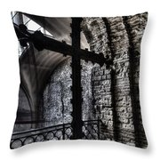 Fifteenth Century Cross Throw Pillow