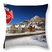 Fifth And Gothic Throw Pillow