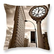 Fifth Avenue Building Throw Pillow