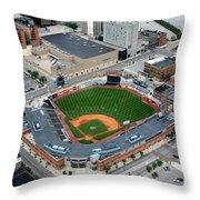 Fifth Third Field Toledo Ohio Throw Pillow