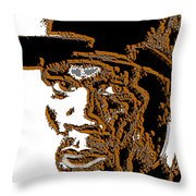 Fifty Cent Rapper Throw Pillow