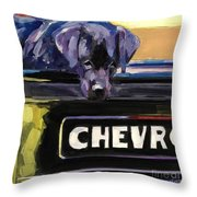 Fifty One Throw Pillow