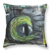Fifty Shades Of An Eye Throw Pillow