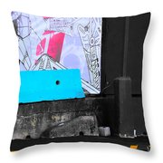 Fight With Lots Throw Pillow