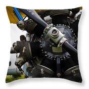 Boeing-stearman Model 75 Kaydet Throw Pillow