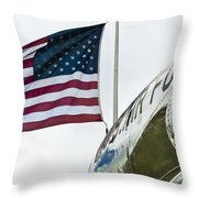 Fighting Flyers Throw Pillow
