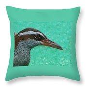 Fijinan Bird 2 Throw Pillow
