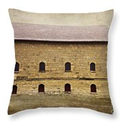 Filley Stone Barn South Side Throw Pillow