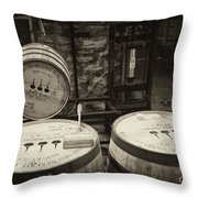 Filling Station - D008777 Throw Pillow