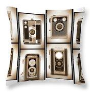 Film Camera Proofs 4 Throw Pillow