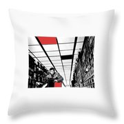 Film Homage Anthony Perkins Orson Welles The Trial 1962 Throw Pillow