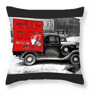 Film Homage Assassin Of Youth 1937 John Vachon Omaha Nebraska 1937-2010  Dwain Espair Throw Pillow