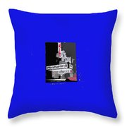 Film Homage Astaire Rogers The Gay Divorcee Collage Rko Radio Fox Tucson 1934-2012 Throw Pillow