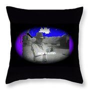 Film Homage Crime Does Not Pay Circa 1964 Dick Mayers Collage Screen Capture Circa 1964-2011 Throw Pillow