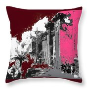 Film Homage D.w. Griffith Intolerance 1916 Fall Of Babylon 1916-2012  Throw Pillow