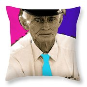 Film Homage Frank Loesser Guys And Dolls 1955 Salvation Army Armory Park Tucson Throw Pillow