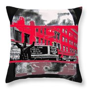 Film Homage Funeral In Berlin 1966 Orpheum Winter Carnival Parade Collage St. Paul Mn 1967-2008  Throw Pillow