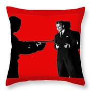 Film Homage James Cagney Angels With Dirty Faces 1939-2014 Throw Pillow