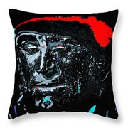 Film Homage Kirk Douglas And Vincent Minnelli Lust For Life 1956 Old Tucson Arizona 1971 Throw Pillow