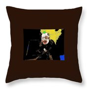 Film Homage Lon Chaney He Who Gets Slapped 1924 Color Added 2008 Throw Pillow