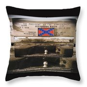 Film Homage Rock Hudson The Undefeated 1969 Apache Owned Pickup Tucson Az  Collage 1985-2012  Throw Pillow