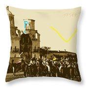 Film Homage Rouben Mamoulian  Ida Lupino  The Gay Desperado 1 1936 San Xavier Tucson Throw Pillow