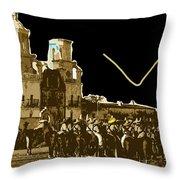 Film Homage Rouben Mamoulian  Ida Lupino  The Gay Desperado 2 1936 San Xavier Tucson Throw Pillow