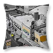 Film Homage The Gay Desperado World Premiere 1936 Fox Tucson Tucson Arizona Art Deco 2008 Throw Pillow
