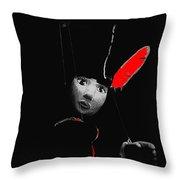 Film Homage Walt Disney's Animators Pinocchio 1940 Aberdeen South Dakota 1964-2008 Throw Pillow