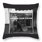 Film Noir Allan Fudge James Gandolfini The Man Who Wasn't There 2001 Gibson's Antiques Tucson Throw Pillow
