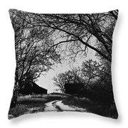 Film Noir Burt Lancaster Robert Siodmak The Killers 1946 Farm House Near Aberdeen Sd 1965 Throw Pillow