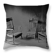 Film Noir Dick Powell Edward Dmytryk Cornered 1945 3 Antlers Hotel Victor Colorado 1971 Toned 2012 Throw Pillow
