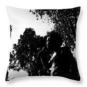 Film Noir Jerry Rubin Lawrence Tierney Elisha Cook Jr Rko Born To Kill 1947 Tucson Arizona 1970 Throw Pillow