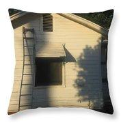 Film Noir John Garfield Lana Turner The Postman Always Rings Twice Ladder House Black Canyon Az Throw Pillow
