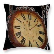 Film Noir Ray Milland Charles Laughton John Farrow The Big Clock 1948 Clock Casa Grande Arizona 2004 Throw Pillow