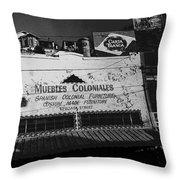 Film Noir Robert Mitchum Where Danger Lives 1950 1 Border Town Nogales Sonora Mexico Throw Pillow