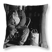 Film Noir Robert Mitchum Where Danger Lives 1950 El Bulla Nogales Sonora Mexico 1968 Throw Pillow