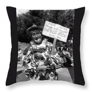 Film Noir Robert Siodmak  George Sanders Strange Affair Of Uncle Harry Clown Tucson Arizona Throw Pillow
